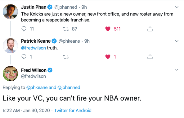 You Can't Fire Your Investor