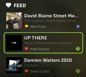 Boxee feed