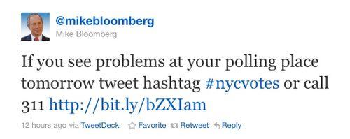 Bloomberg tweet