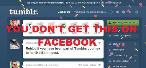 Tumblr confetti