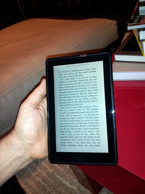 Kindle fire book reader