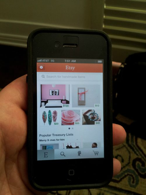 Etsy iphone