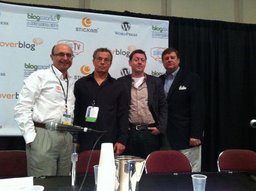 BlogWorld Panelists June 2012