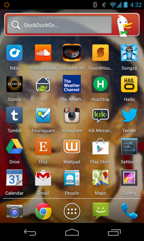 Fred home screen may 2013