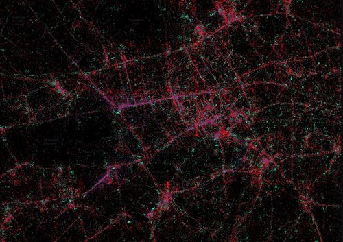 London smartphone distribution