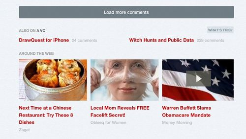 Thumbnail ads