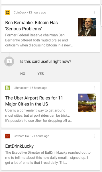 google now stories