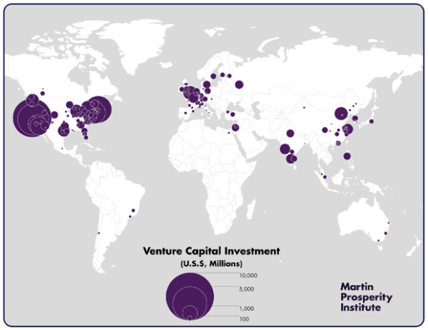 global VC investment