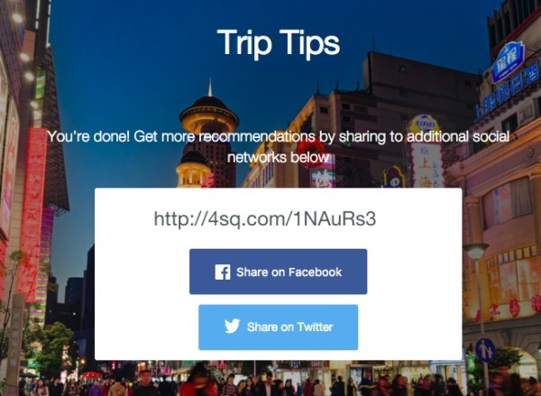 trip tips URL